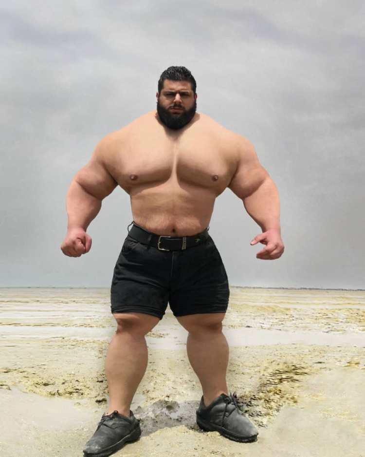 El culturista conocido como 'El HULK Iraní' anuncia que en breve debutará como luchador de MMA