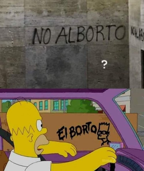 No Alborto