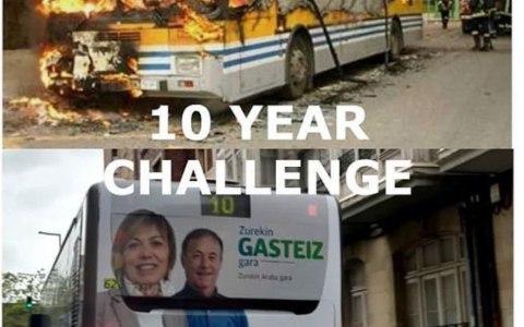 Ganadores del 10 year challenge