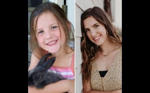 Entrevista a su hija el primer día de clase durante los últimos 13 años