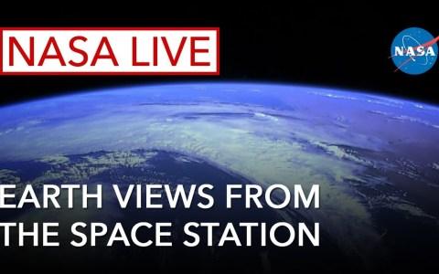 Por si alguno no lo sabía, La NASA tiene un streaming en vivo de la tierra desde la Estación Espacial Internacional