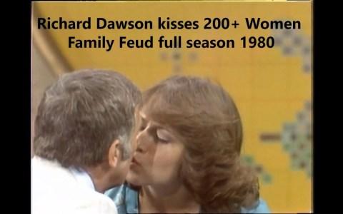 Richard Dawson, el presentador de TV que a lo largo de 10 años besó en la boca a 20mil mujeres en la televisión nacional de EEUU