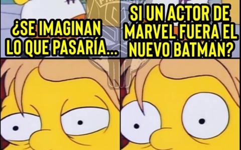 Tony Stark haciendo de Batman...