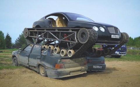 Segunda prueba del Bentley Ultratank
