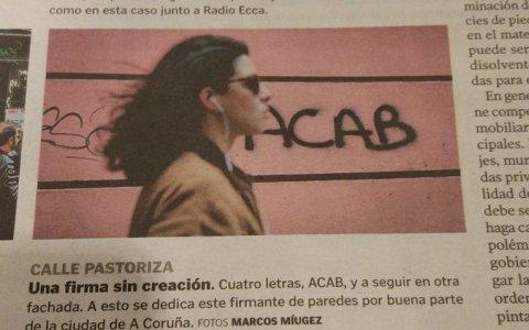 ¿Quién será el grafitero ACAB?