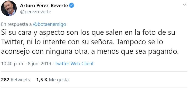 El consultorio del Dr. Pérez-Reverte