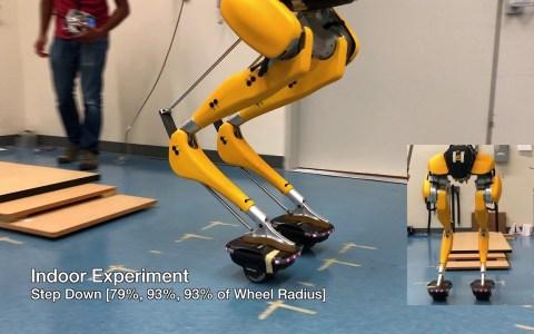 ¿Había alguna forma de que los robots humanoides que saben andar dieran más miedo?