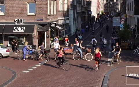 Hora punta en Amsterdam