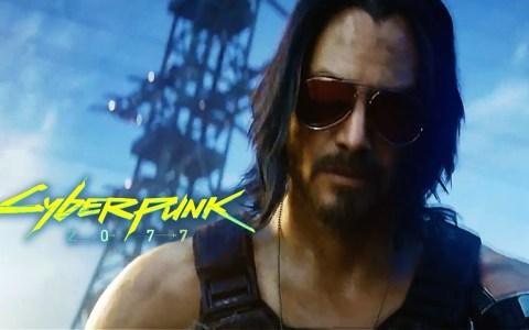 Keanu se la devuelve amablemente a un heckler despues de anunciar que aparecerá en el juego CyberPunk