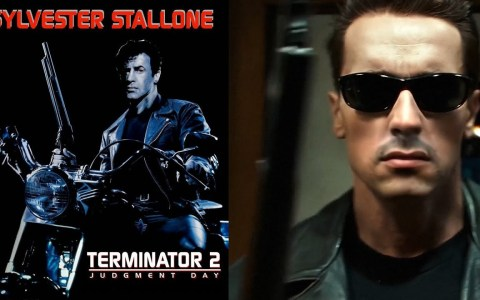 Terminator 2 protagonizado por Silvester Stalone