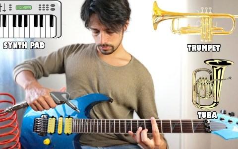 Imitando otros instrumentos con la guitarra