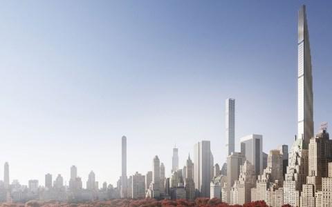 La nueva moda de edificios muy altos y muy finos que arrasa en New York
