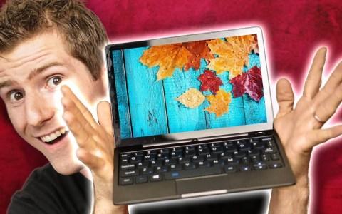 Linus prueba el portátil más ridículamente pequeño del mercado