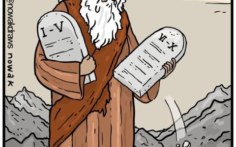 Los quin... los 10 mandamientos