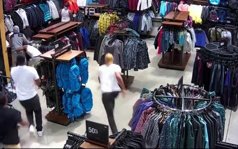 Visto y no visto: se llevan 30.000 pavos de ropa en menos de 20 segundos