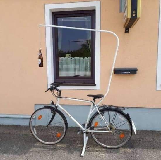 La bici de entrenamiento de Kimi Raikkonen