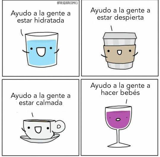 Utilidades de las distintas bebidas