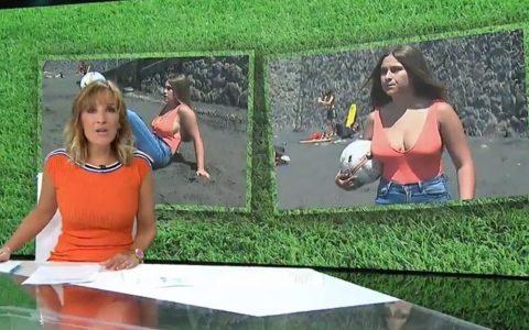 Paula Medina, la crack del balón con solo 17 años