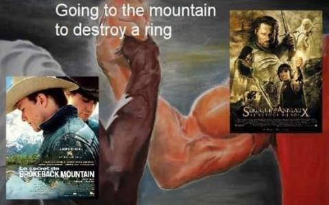 Ir a la montaña a destruir un anillo
