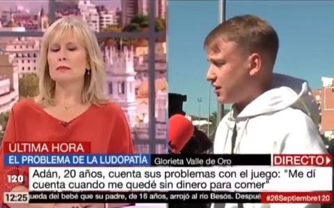 Escuchando a este chaval se puede entender el problemón que tenemos con las casas de apuestas en España
