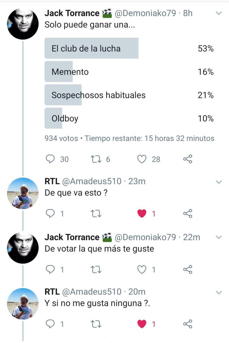 Un día normal en Twitter