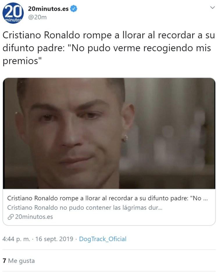 Cristiano Ronaldo siendo Cristiano Ronaldo