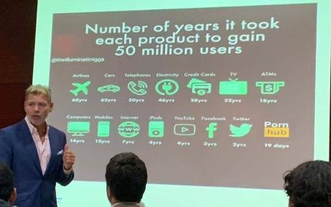 Número de años que les costó a las marcas alcanzar los 50 millones de usuarios