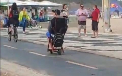 Este brasileño vive en el año 8500