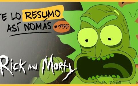 Te lo resumo: Rick y Morty