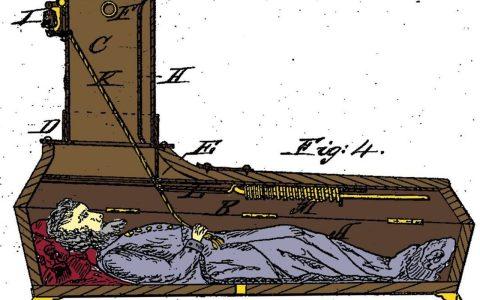 Salvados por la campana: el ingenioso ataúd con el que podías avisar de que te habían enterrado vivo