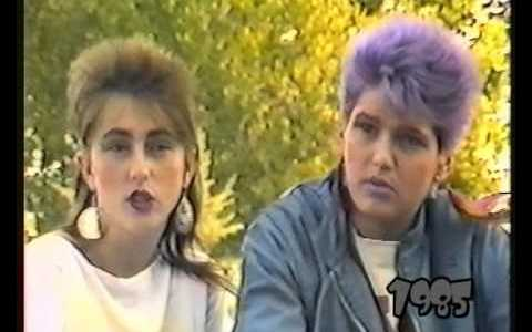 Jóvenes de Pamplona en 1985