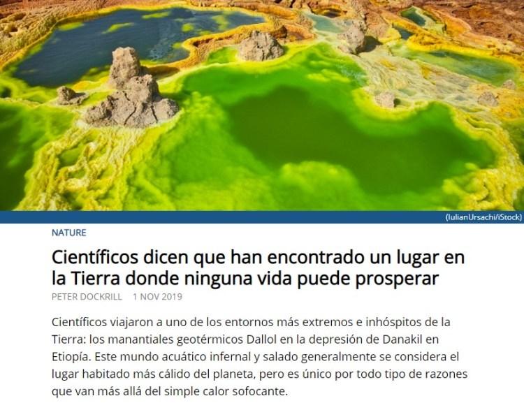 Científicos millennials descubren El Mar Menor