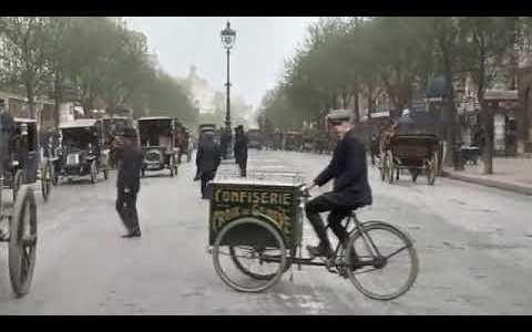 Vídeo inédito de París en 1900 - La ciudad de las luces