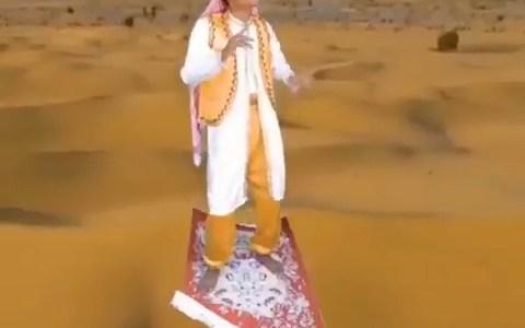 Vaya, qué mal ha envejecido la peli de Aladdin...