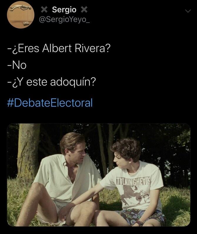 Los mejores memes del debate de ayer