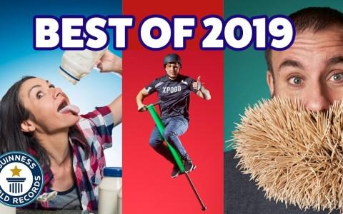 Los mejores record Guiness del año