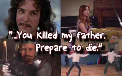 Mi nombre es Íñigo Montoya. Tú mataste a mi padre, prepárate para morir