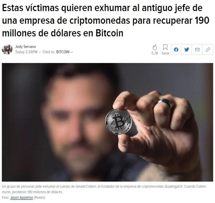 Cripta-monedas en su caso