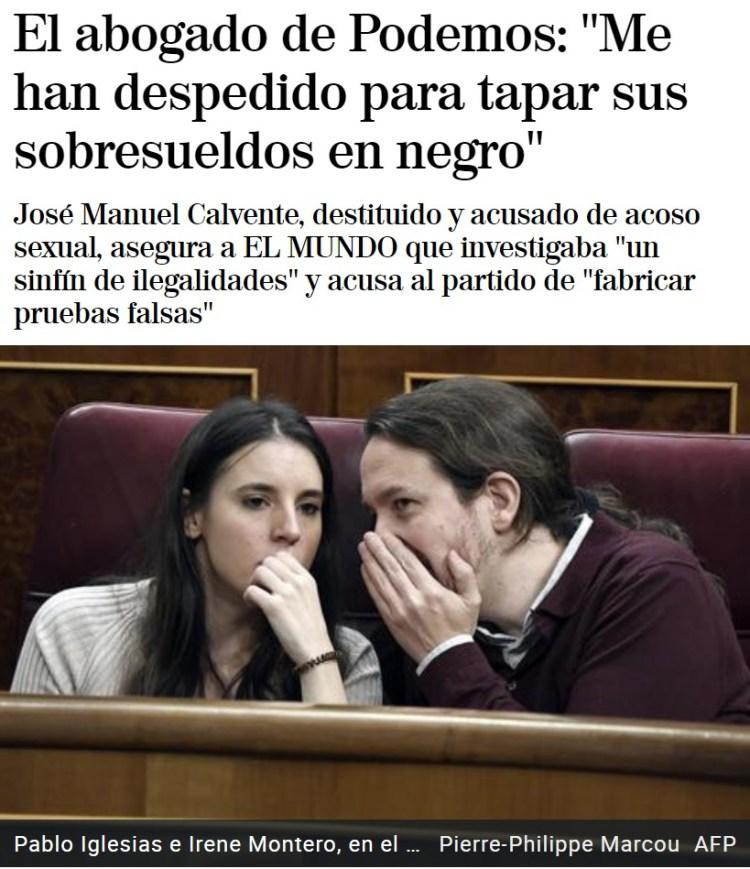 Hay que ver cuánta gente de VOX trabaja infiltrada en Podemos...