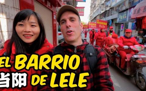 Jabiertzo nos enseña el barrio en el que nació Lele