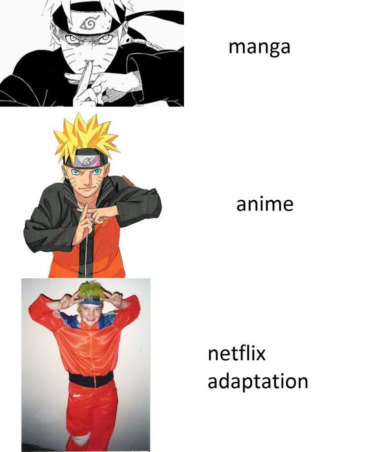 Malditas adaptaciones de Netflix...