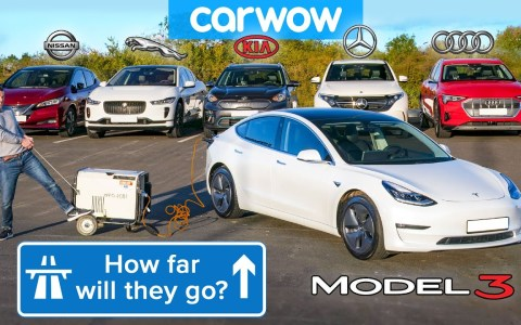 Conduciendo los mejores eléctricos del mercado hasta que se les muera la batería