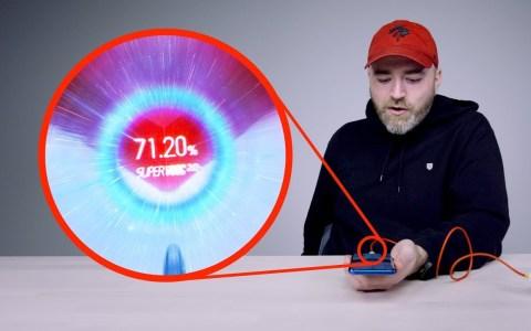 El móvil con la carga más rápida del mundo