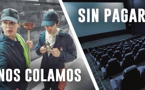 El truco infalible para colarte en los cines sin pagar