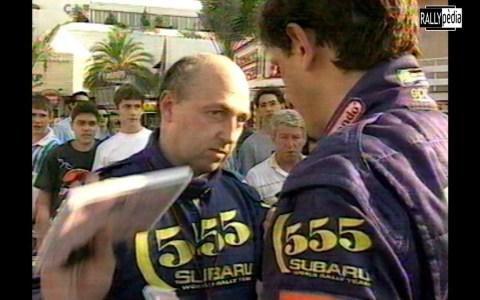 Ordenes de equipo Subaru | Sainz vs McRae | Rallye Catalunya 1995