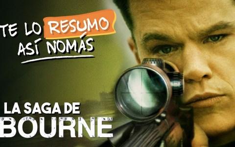 La Saga de Jason Bourne @ Te Lo Resumo Así Nomás