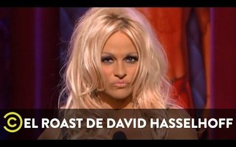 Roast de (los guionistas de) Pamela Anderson a David Hasselhoff y Hulk Hogan entre otros