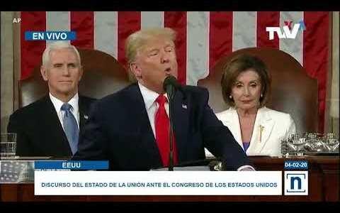 Trump llama tirano y dictador a Maduro, y acepta a Guaidó como legítimo presidente de Venezuela