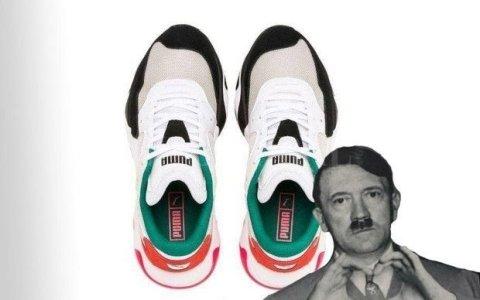 Polémica por unas zapatillas que se parecen a Hitler