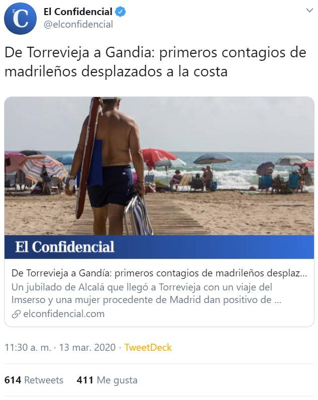 """Empiezan """"las vacaciones del coronavirus"""""""